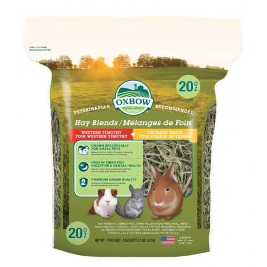 Fieno Oxbow Hay Blends 1,130kg CONSEGNA IN 24/48H mangime semplice per conigli e roditori ( FINO 12,99€)
