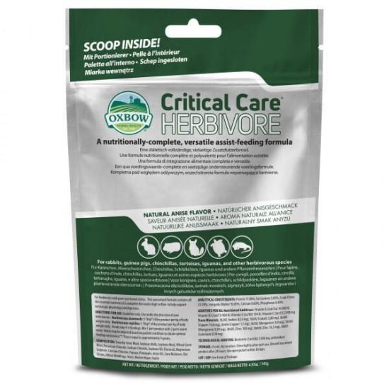 Oxbow Critical Care 141 gr alimentazione completa per piccoli erbivori