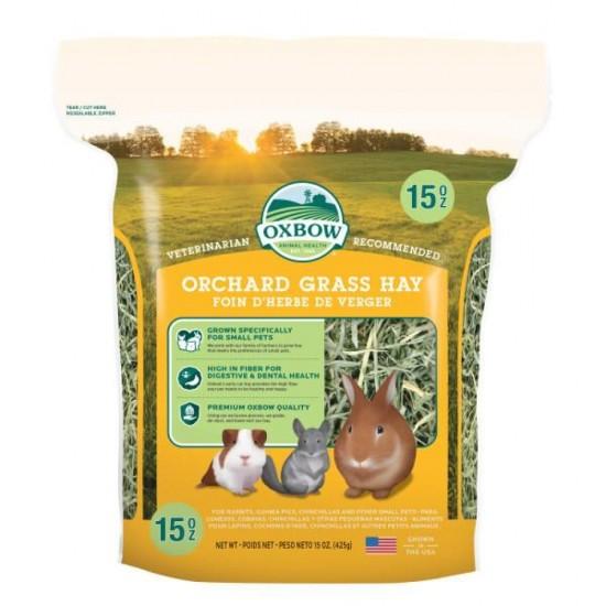 Fieno Oxbow - Orchard Grass Hay - 425 gr CONSEGNA IN 24/48H mangime semplice per conigli e roditori