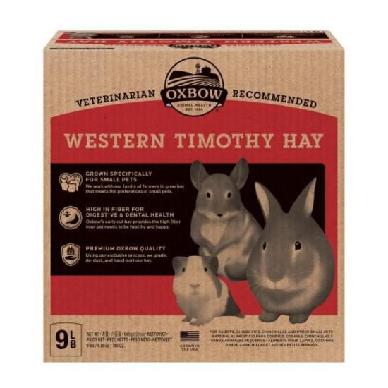 Fieno Oxbow - Western Timothy Hay - 4,08 kg CONSEGNA IN 24/48H mangime semplice per conigli e roditori