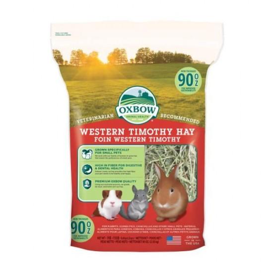 Fieno Oxbow - Western Timothy Hay - 2,550 kg CONSEGNA IN 24/48H mangime semplice per conigli e roditori
