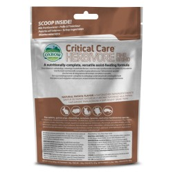 Oxbow Critical Care Fine Grind - 100 gr  CONSEGNA 24/48H alimentazione completa per piccoli erbivori - SOLO 12,90€