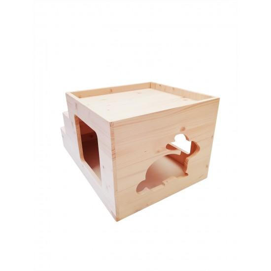 Cubo  Scala per Conigli Rosicchiando NEW semplicemente unico !!