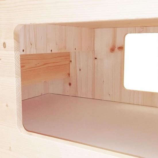 Cubo  Scala XL per Conigli Rosicchiando NEW semplicemente unico !!