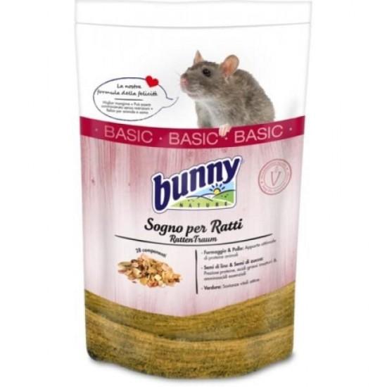 Bunny Sogno per Ratti Basic 350 gr mangime completo