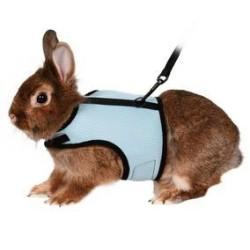 Parure con Pettorina & Guinzaglio Trixie per conigli nani