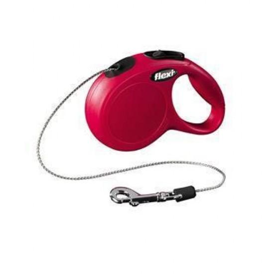 Flexi New Vario Classic Guinzaglio rosso 5 mt Trixie SOLO 9.90€